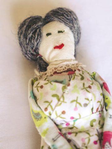 Handmade Doll – Nellie