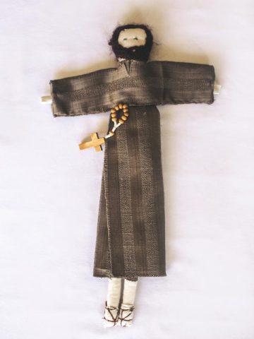 Handmade Doll – St Feichin
