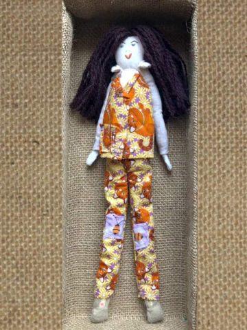 Handmade Doll – The Cats Pyjamas