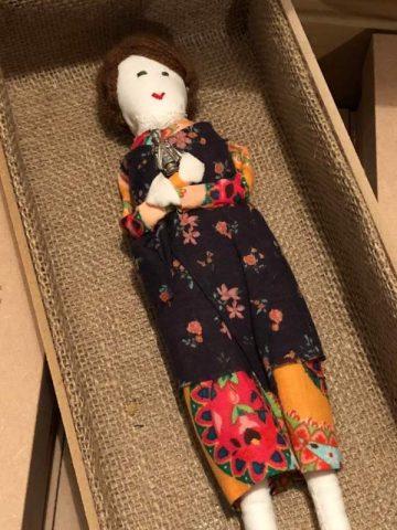 Handmade Doll – Child of Prague